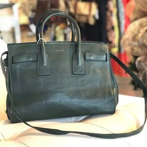 YSL Yves Saint Laurent satchel messenger bag